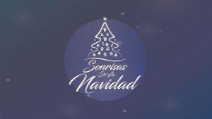 Logo sonrisas de la navidad