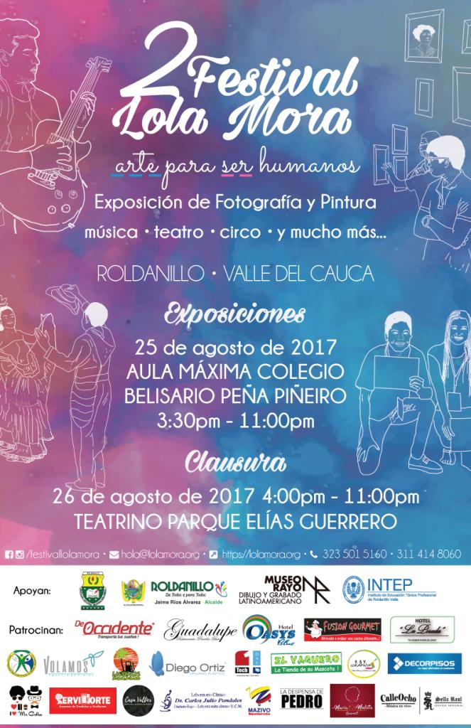 Afiche Festival Lola Mora 2017